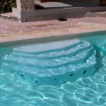 Escalier piscine Ares