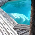 Escalier piscine Athena