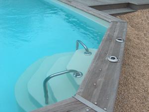 accelo installation escalier piscine. Black Bedroom Furniture Sets. Home Design Ideas